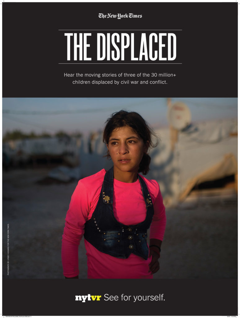 poster thedisplaced 774x1024 - Virtual Reality Journalism