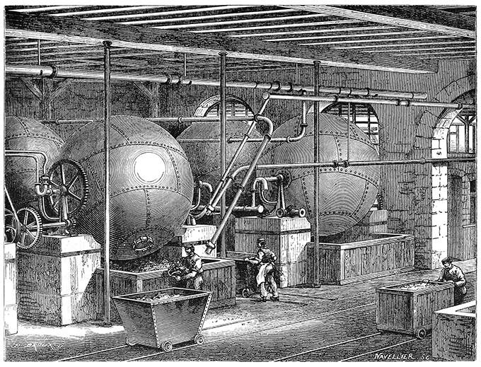 rotary boilers - Heidegger's Virtual Reality
