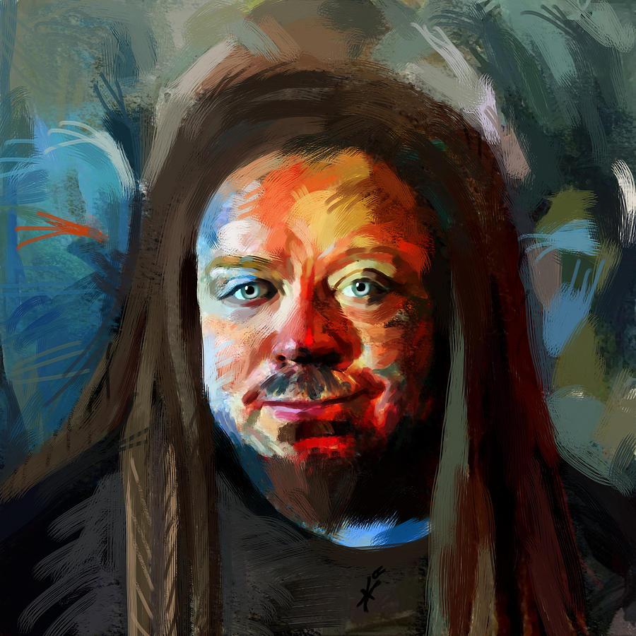 jaron lanier portrait 1041 maciej mackiewicz - A Psychedelic Virtual Reality