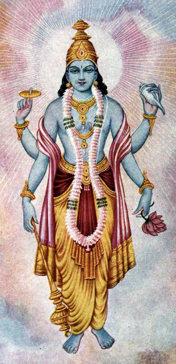 standard Vishnu - A Virtual Masquerade